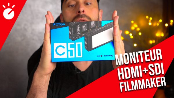Moniteur 5″ HDMI + SDI pour filmmaker